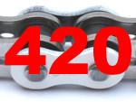 420 (Teilung 1/2 x 1/4 Zoll)