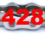 428 (Teilung 1/2 x 5/16 Zoll)