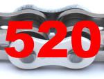 520 (Teilung 5/8 x 1/4 Zoll)