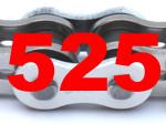 525 (Teilung 5/8 x 5/16 Zoll)