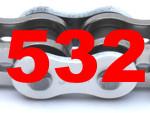 532 (Teilung 5/8 x 3/8 Zoll)