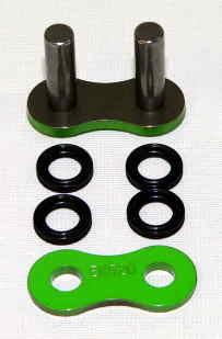 Enuma Nietschloss für NX-Ring Kette 525 MVXZ-2 grün