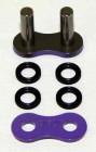 Enuma Nietschloss für NX-Ring Kette 525 MVXZ-2 violett