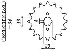 RITZEL Yamaha/Suzuki/Benelli, Z-14