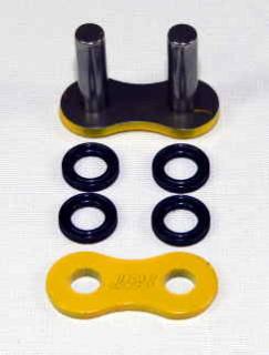 Enuma Nietschloss für NX-Ring Kette 525 MVXZ-2 gelb