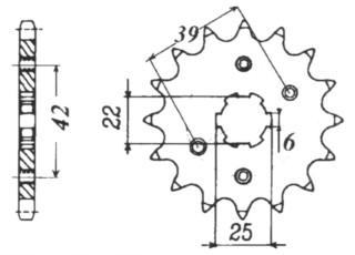 RITZEL Honda, E-Ton/SYM/TGB, Z-15