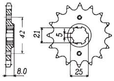 RITZEL Yamaha, Z-15