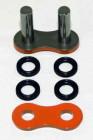 Enuma Nietschloss für Quad-Ring Kette 530 SRX orange