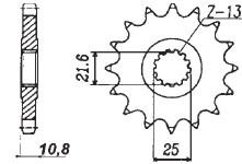 RITZEL Yamaha, Z-16