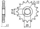 RITZEL Yamaha, Z-17