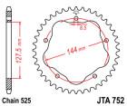 ALU-KETTENRAD Ducati, Z-36 für Kettenradträger...