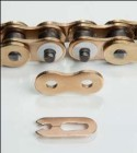 Enuma Clipschloss für Rennkette 520 NX-2 gold