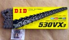DID X-Ring Kette 530 VX3, 116 Glieder, offen mit...
