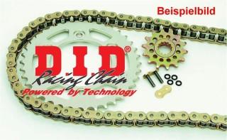 Kettensatz Kettenkit Quad Kawasaki KFX 400, Bj. 03-06, X-Ring Kette verstärkt, Übersetzung 15/35