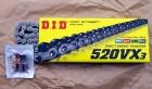 DID X-Ring Kette 520 VX3, 100 Glieder, endlos (geschlossen)