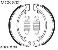 Bremsbacken TRW//Lucas MCS 809