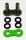 Enuma Nietschloss für NX-Ring Kette 520 MVXZ-2 grün