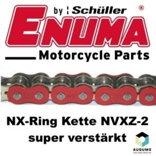 ENUMA Kette 525 MVXZ-2 ROT, 116 Glieder