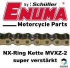 ENUMA Kette 525 MVXZ-2 GOLD, 124 Glieder
